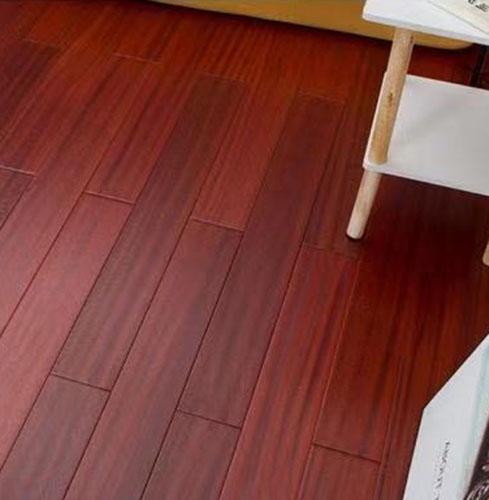 森趣实木地板非洲柚木9016