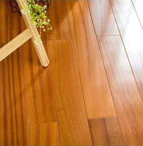 森趣实木地板非洲柚木9018